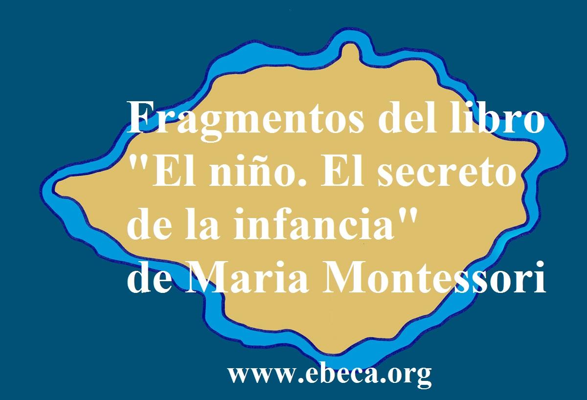 Fragmentos De El Niño El Secreto De La Infancia De Maria