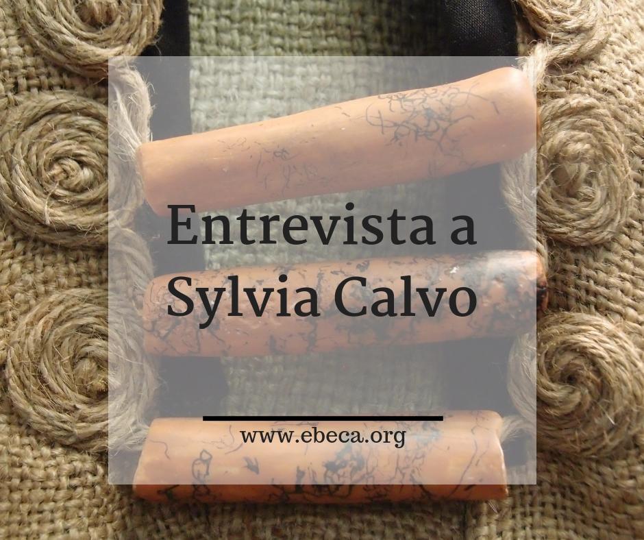 Entrevista a Sylvia Calvo