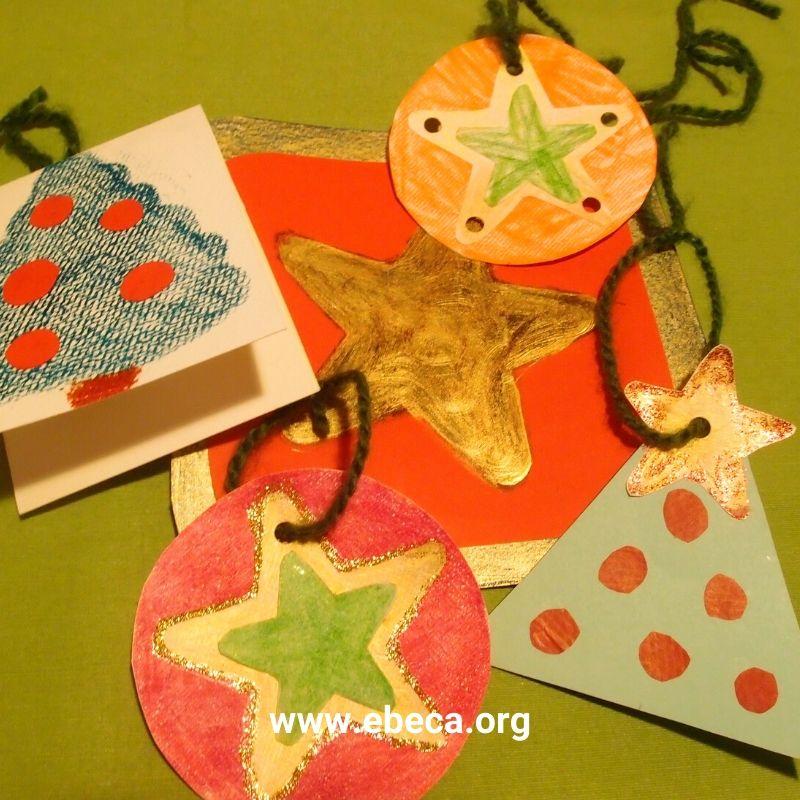 Decoraciones de Navidad sostenibles y creativas